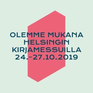 Olemme Helsingin kirjamessuilla!